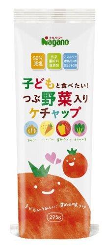 Ich will essen und Nagano Tomate Kinder! Grain Gem?se enth?lt Ketchup 295gX5 Taschen