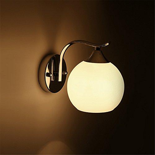 YU-K Design minimaliste ball LED Lampes de chevet chambre bar miroir mural dans le couloir wall lamp