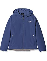 The North Face Softshell Exploration Chaqueta, Niñas, Azul (Coastal Fjord Blue),