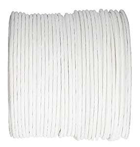 Chal - Paper Cord armé blanc rouleau 20mètres