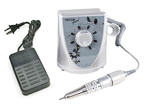 TRITOR Nagelfräser SPEED - Elektrische Nagel-Feile für Gel-Nägel - Fräser - Maniküre - Pediküre