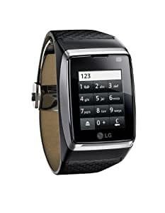 LG GD910 watch phone - black (incl. Charger + data wire)