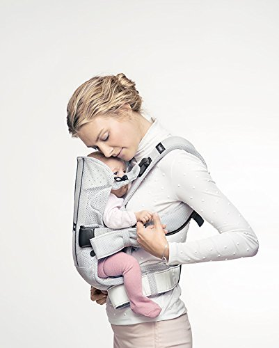BABYBJÖRN Baby Carrier One Air (Silver, Mesh)