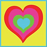 Dmc kit complet tapisserie - le coeur multico