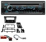 caraudio24 Kenwood KDC-BT530U AUX MP3 Bluetooth USB CD Autoradio für Mazda 3 (ab 2009)