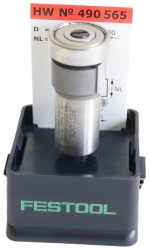Preisvergleich Produktbild Festool 490565 HM Bündigfräser HM/KLS D22/8-OKF