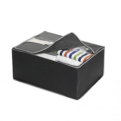 Couples Mixtes Costumes - Axentia–Jumbo Box 59x 45x 28cm Noir/Gris pewa