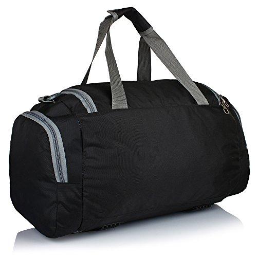Suntop Alive Nylon, Polyester 40 Litres, 20 Inch Gym,Travel Duffel Bag