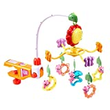 Bedside bell Lernspielzeug Geschenke für Kinder Didi Kaninchen Bett Glocke Musik Rotary Schlaf Bett Glocke Rassel Neugeborenen Geschenkbox