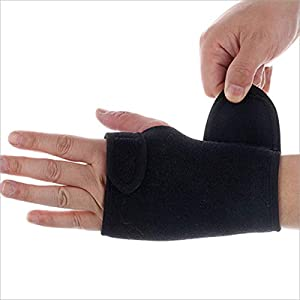 RFGHATG verstellbares Armband Elastischer Armbandverband für das Gewichtheben Atmungsaktive Handgelenkstützfinger
