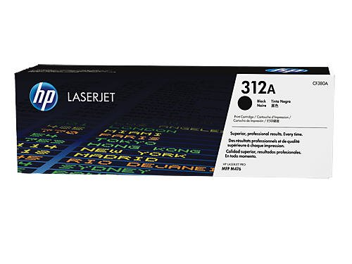 Preisvergleich Produktbild HP 312A (CF380A) Schwarz Original Toner für HP Color Laserjet Pro MFP M476