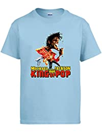 Camiseta Michael Jackson King of Pop