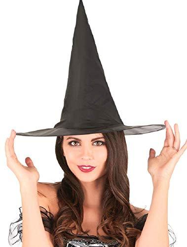 (Inception Pro Infinite Hexenhut - Schwarze Farbe - Karneval - Halloween - Frau - Mann)