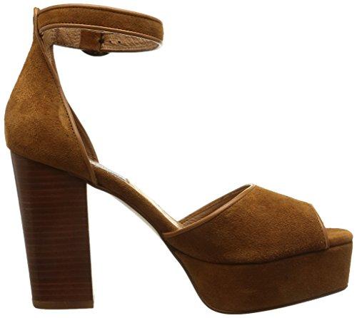 Steve Madden Disco, chaussures femme brown (Chestnut)