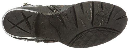 A.S.98 Corn 17, Stivali da motociclista Donna Grau (Nebbia/Nebbia/Nero)