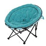 CGF-Liegen Falten Liegestühle Relaxsessel Faltender Recliner-zufälliges faules Mond-Sofa-tragbares einfaches, um runde Erwachsene Schlafzimmer-Büro-Belastbarkeit 150kg auseinander zu Bauen
