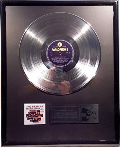 The Beatles - The Beatles Second Album platin Schallplatte (gold goldene record)