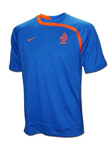 Nike - Holanda Camiseta ENTRENO AZ EURO08 Hombre Color: Azul Royal Talla: XL