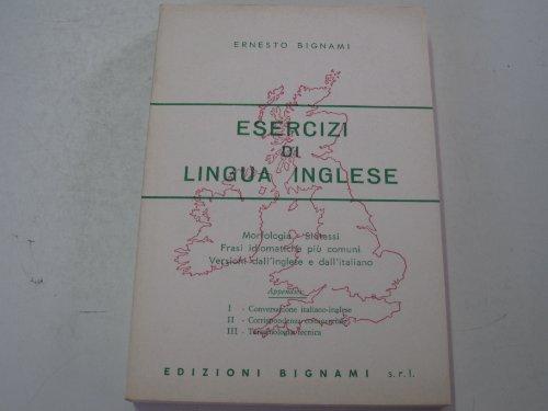 Esercizi di lingua inglese