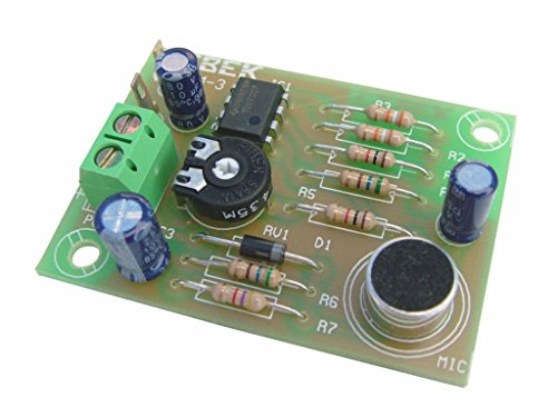 Cebek -Vorverstärker mit Elektret-Mikrofon 6–18V Ce-Pm3