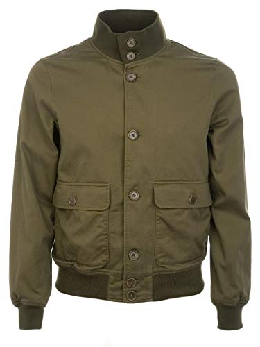 ASPESI Luxury Fashion Uomo CG86E7941377 Verde Giacca Outerwear | Stagione Permanente