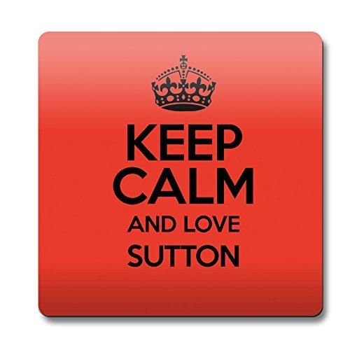 RED Keep Calm and Love Sutton Sottobicchiere 0638-Stivaletti colore alla caviglia