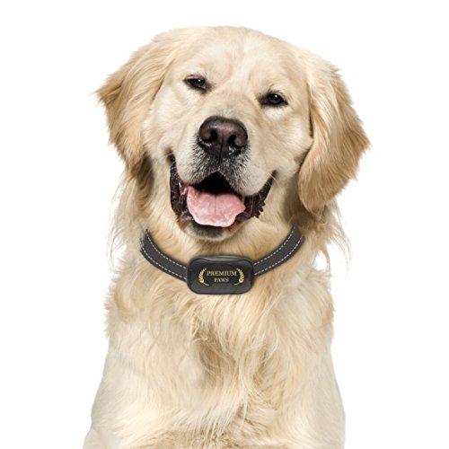 Anti bell Hundehalsband, Stoppt das Bellen von Hunden auf humane Art mit Ton & Vibration, keine Schocks, 7 verstellbare Stufen