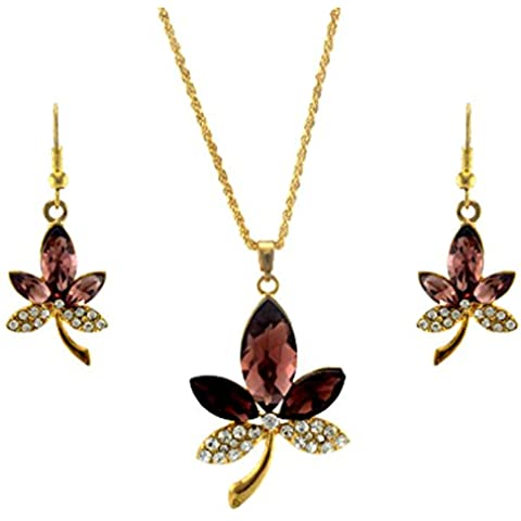 SaySure - Austrian Crystal Gold Plated Jewelry