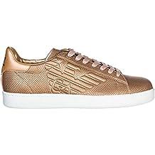 Emporio Armani EA7 Scarpe Sneakers Uomo Nuove Originale Rosa 030461c0f58