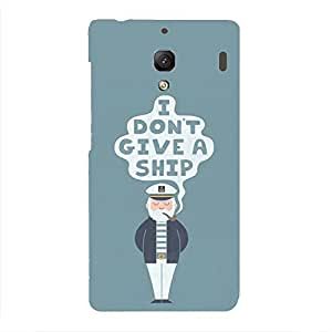 Back cover for Redmi 1S I DON'T GIVE A SHIP