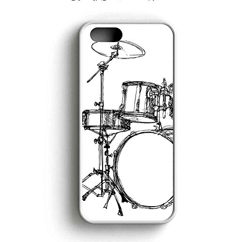 drum-set-art-sketch-cover-funda-iphone-5-5s-fall-rubber-frame-blanco-fit-para-funda-iphone-5-5s-v8p5