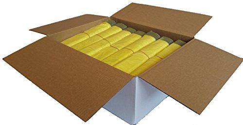 *Gelber Sack – Ein Karton mit 20 Rollen (260 Gelbe Säcke) – 15 µm Folienstärke*