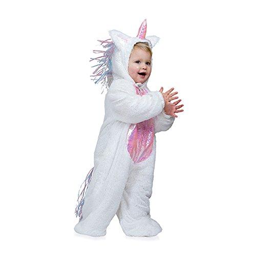 Kostümplanet® Einhorn-Kostüm Baby Kinder-Kostüm Einhornkostüm Faschings-Kostüm Größe 92