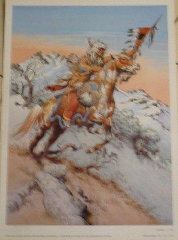 Dumont Blanc (blanc-dumont-Chef indischen N °/S 500EX-50x 70cm zeigt/Poster)