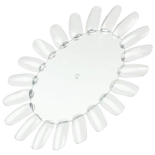 Präsentationsdisplay / Farbrad / Tip-Rondell mit 20 Tips transparent-klar (sehr stabil) rund-oval...