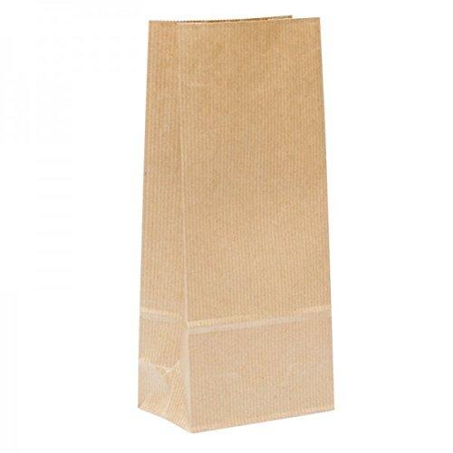 Bolsa papel Kraft (150 uds) sin asas - para regalos, punto de venta