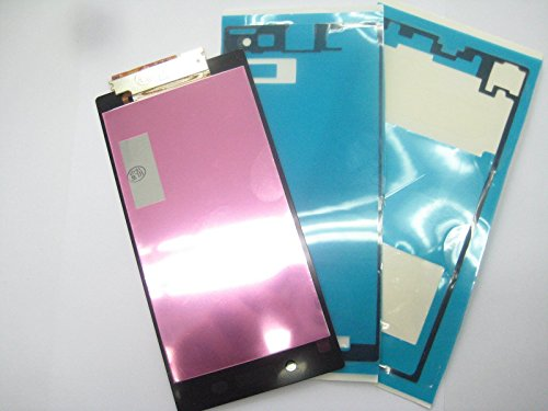 Full LCD display + Touch Screen+Adhesive+ Glass Film For Sony Xperia Z1 L39h C6902 C6903 C6943 Black