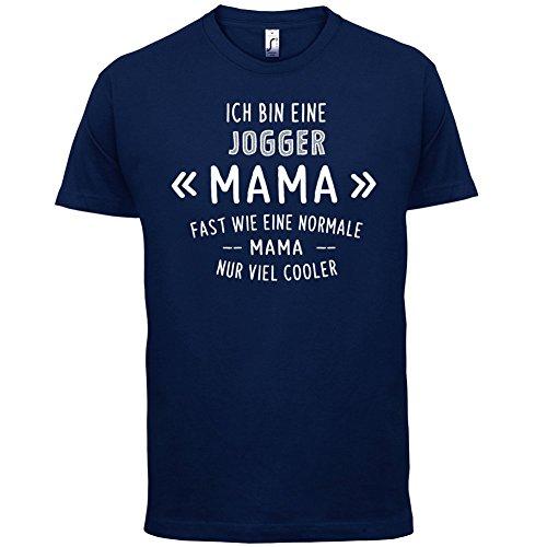 Ich bin eine Jogger Mama - Herren T-Shirt - 13 Farben Navy