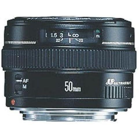Canon EF 50mm f/1.4 USM - Objetivo (SLR, 7/6, 1:1.4, Canon EF, Canon EOS, Negro)