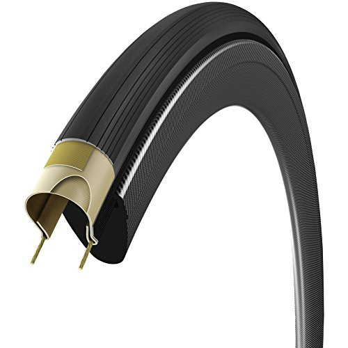 Vittoria Corsa Speed G Plus Isotech - Rueda sin cámara Plegable, Unisex, Corsa Speed G Plus Isotech, Anthracite/Black/Black