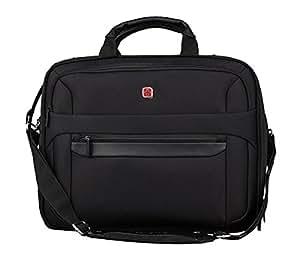 Wenger RV Businesstasche mit Laptopfach 17 Zoll  Basic, schwarz, 27 liters, W73012298