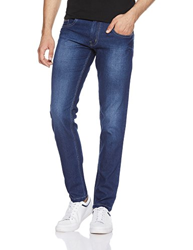 Newport by Unlimited Men's Slim Fit Jeans (276721845_BLUE-DS_34)