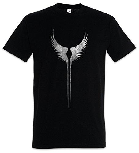 748ae791508 Valkyrie Wings T-Shirt – Symbol Walküren Flügel Walküre Walhall Walhalla  Ravens Odin Thor Mjölnir