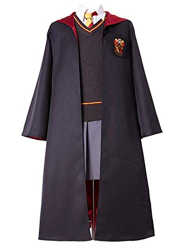 RedJade Hermione Granger Harry Gryffindor Uniform Cosplay Kostüm Damen - Damen Uniform Kostüm
