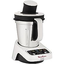 Moulinex HF404113 Robot de Cocina multifunción, Capacidad de 3 l, Interfaz intuitivo con 5