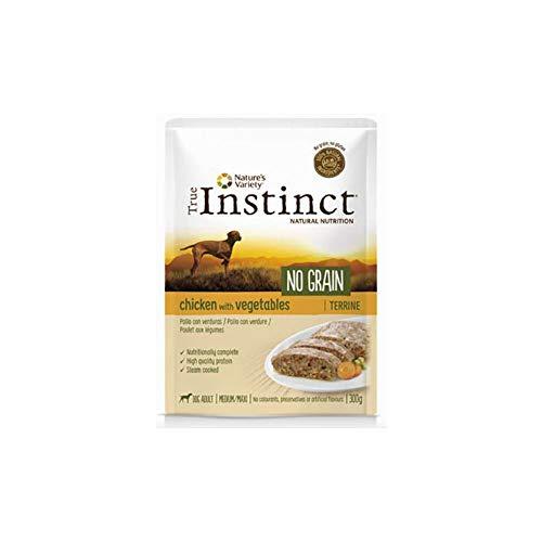 True Instinct Adult Pollo No Grain Terrina 300gram