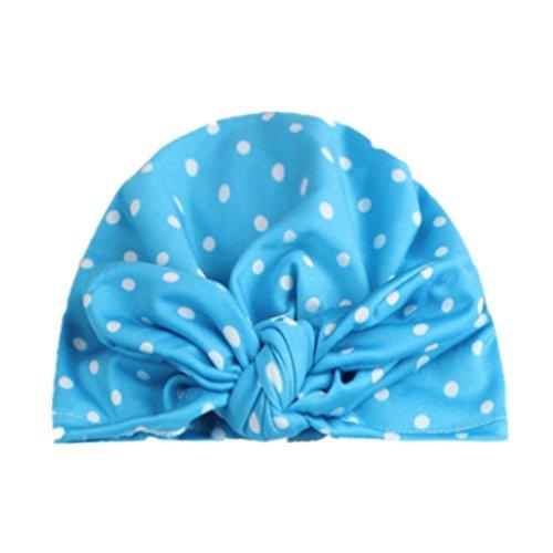 Xshuai Kleinkind-Säuglings baby-Mädchen-Jungen-Punkt-Höhle heraus Hut Headwear netter Hut (One size, D) (Carter Halloween Kostüme)