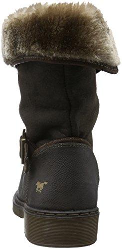 Mustang Damen 1235-604 Kurzschaft Stiefel Grau (20 dunkelgrau)