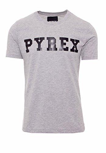 Pyrex SHIRT UNISEX GRAPHIC TEE 28300 Grigio