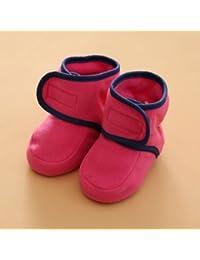 XIU RONG Scarpe Per Bambini In Primavera E In Autunno 0-1 Anni Maschio  Calzini Baby Baby Toddler Scarpe Morbide… bdf70fa7871